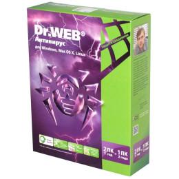 ПО DR.Web Антивирус 2 ПК/1 год BHW-A-12M-2-A3