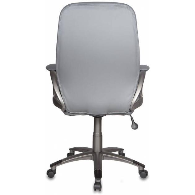 Кресло руководителя Бюрократ T-700DG/OR-17 серый Or-17 искусственная кожа пластик темно-серый