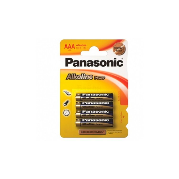 Panasonic Alkaline Power 4BP