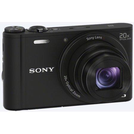Sony Cyber-shot DSC-WX350 Черный, Wi-Fi