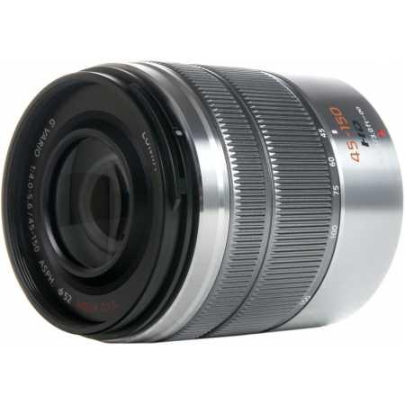 Panasonic Lumix G Vario 45-150mm f/4-5.6 ASPH. Mega O.I.S. Телеобъектив, Micro 4/3