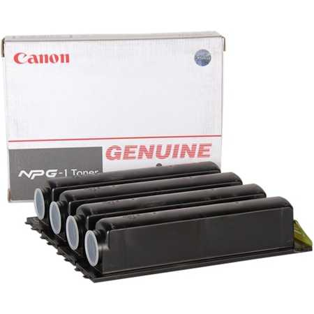 Canon NPG-1 Тонер-картридж, Черный, Стандартная, нет