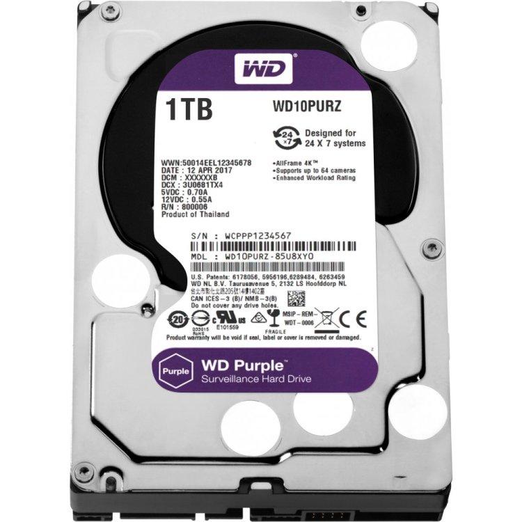 Western Digital Purple 1000Гб