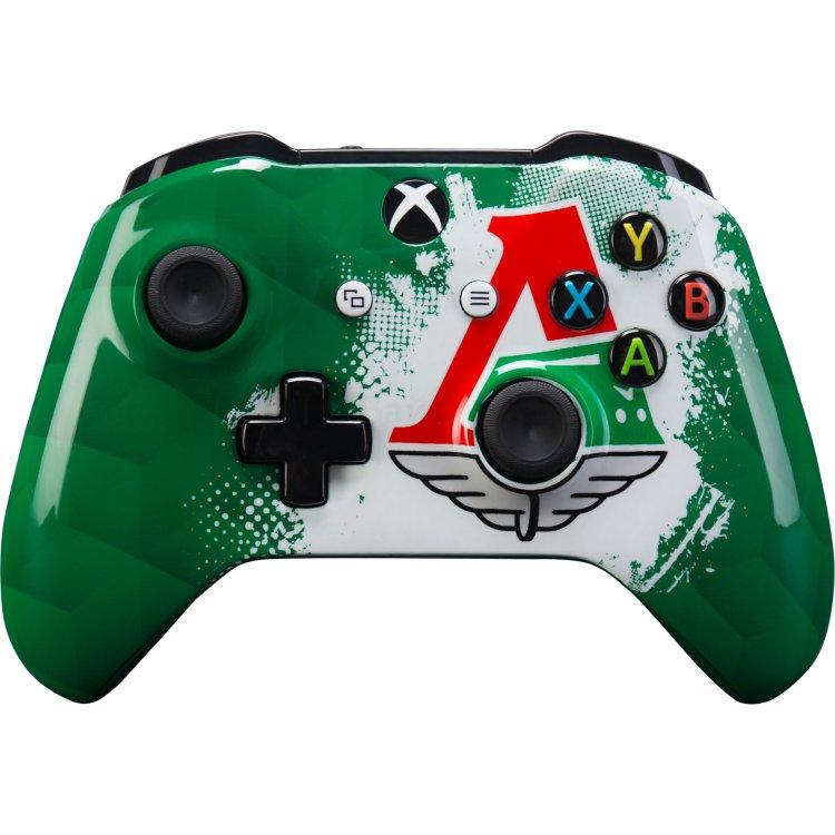 Геймпад беспроводной Microsoft Xbox One ФК Локомотив «Чемпионский экспресс»