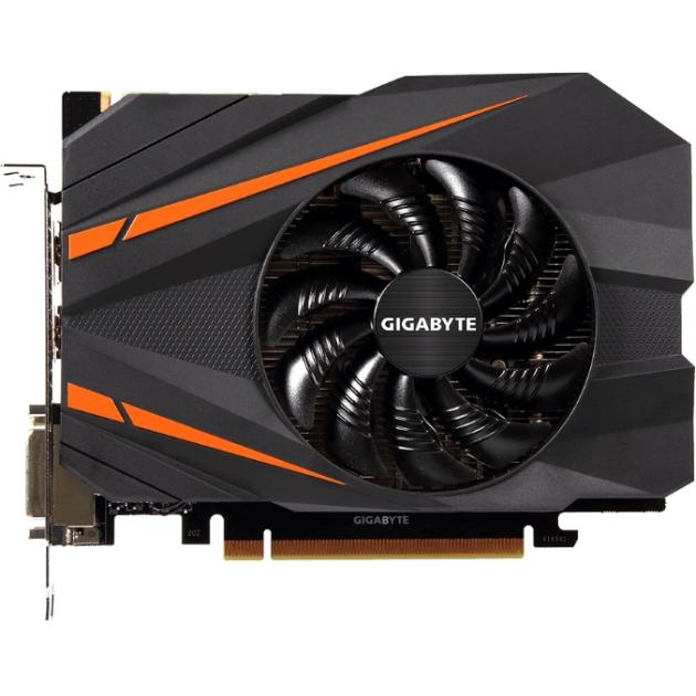 Gigabyte NVIDIA GeForce GTX 10 Series PCI-E 16x 3.0, 8192Мб GV-N1070IX-8GD