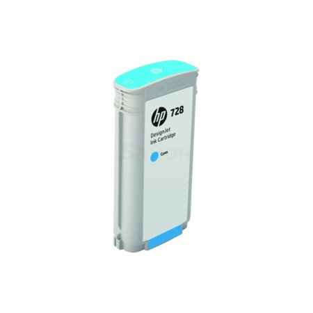 HP Inc. Cartridge HP 728 для НР DJ Т730/Т830 130-ml Cyan Ink Cart