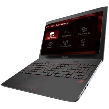 "Asus G751JL 17.3"", Intel Core i5, 2300МГц, 8Гб RAM, DVD-RW, 2Тб, Серый, Wi-Fi, DOS, Bluetooth"