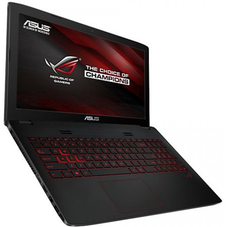 "Asus ROG GL552VX-DM265D 15.6"", Intel Core i7, 2600МГц, 8Гб RAM, DVD-RW, 1Тб, Серый, Wi-Fi, без ОС, DOS, Bluetooth"