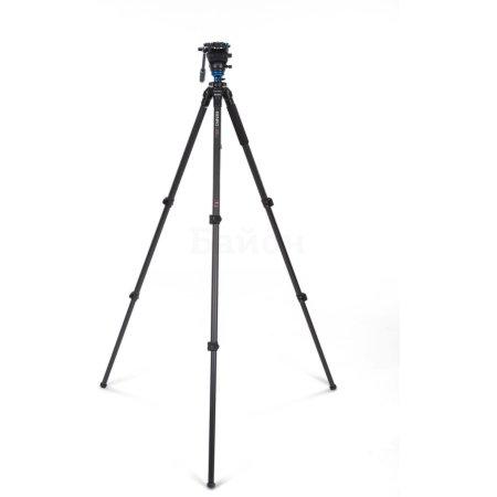 Benro C2573FS4 Черный, Для видеокамер, Трипод - напольный (тренога)