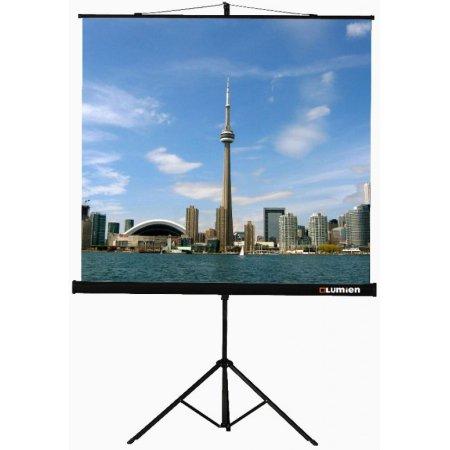 Экран на треноге Lumien 180x180см Eco View LEV-100102 1:1 напольный рулонный