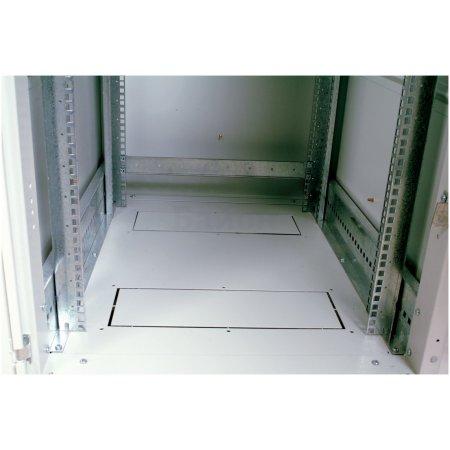 ЦМО Шкаф телекоммуникационный напольный 27U (600x600) дверь металл (2места), [ ШТК-М-27.6.6-3ААА ]