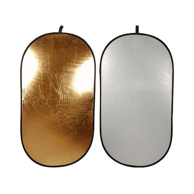 Отражатели 102х168 см золотистый / серебро RFR-4066GS