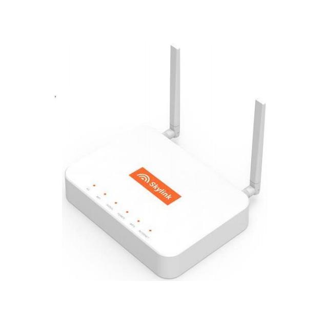 Skylink V-FL500 Белый, 100Мбит/с, 5, 2.4Роутеры (маршрутизаторы)<br>Исполнение стационарный , Частота 2.4 ГГц, 5 ГГц...<br><br>Артикул: 1285162<br>Специальные предложения: Новинка,Хит продаж<br>Производитель: Skylink<br>Исполнение: стационарный<br>Цвет: Белый<br>Макс. скорость беспроводного соединения: 100 Мбит/с<br>Частота: 2.4 ГГц,5 ГГц