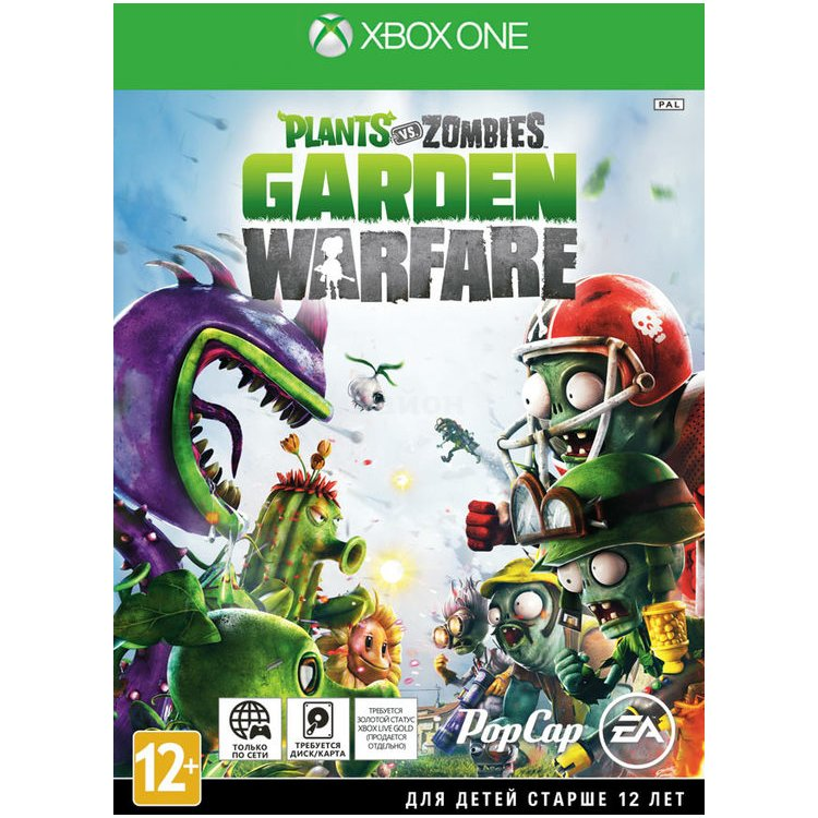 Plants vs. Zombies Garden Warfare Xbox One, Русская документация