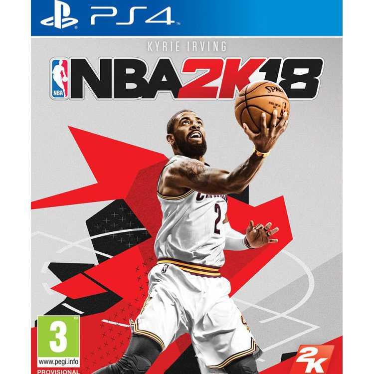 NBA 2K18 Sony PlayStation 4, стандартное издание, Английский язык