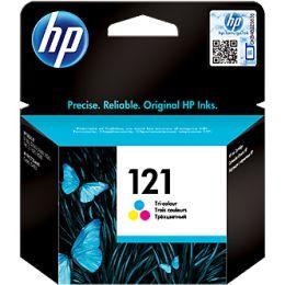 HP 121 CC643HE Синий, Картридж струйный, Стандартная, Желтый, Пурпурный