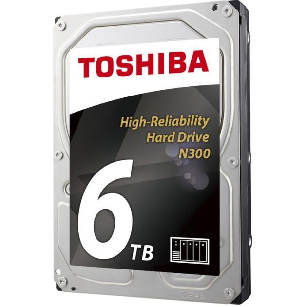 """Toshiba N300 6000Гб, 600, 3.5"""" HDD"""