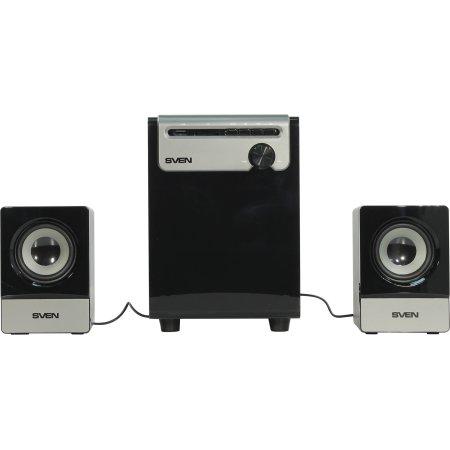 Sven MS-110 Черный, 2.1, RCA, Пластик