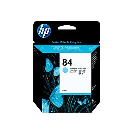 HP Inc. Cartridge HP 84 DsgJ 10ps/20ps/50ps, светло-синий (69ml)