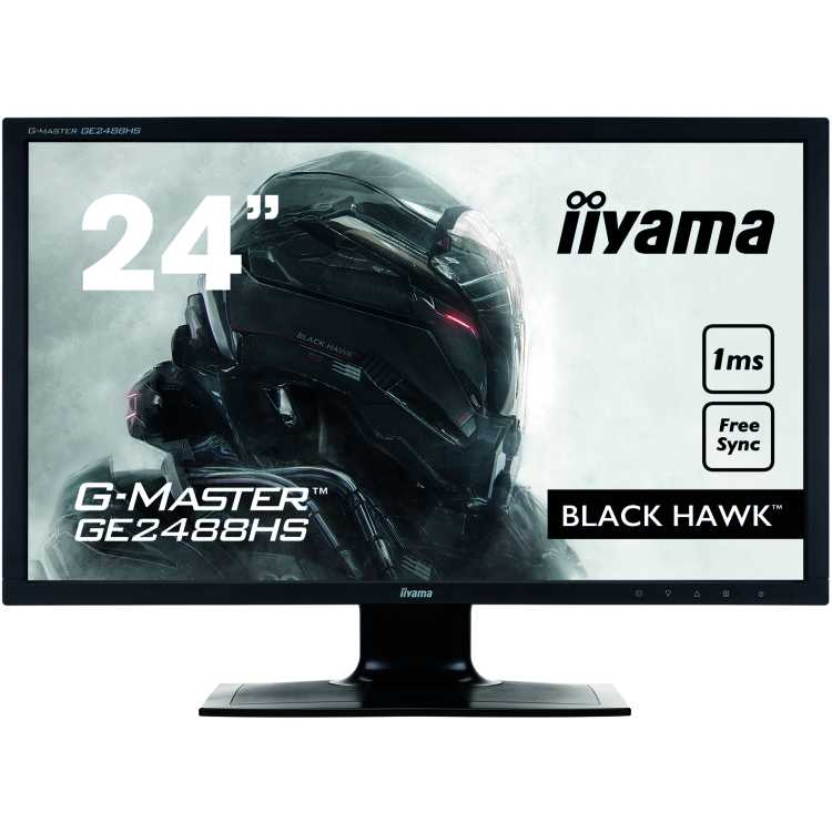 "Iiyama GE2488HS-B2 24"", TFT TN, 1920x1080, Full HD, HDMI, DVI"