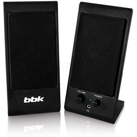 BBK CA-191S Черный, 2.0, mini jack, Пластик