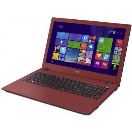 "Acer Aspire E5-573-37YR 15.6"", 2000МГц, 4Гб RAM, 500Гб, Красный, Wi-Fi, Windows 10, Bluetooth, Intel Core i3, DVD-RW"
