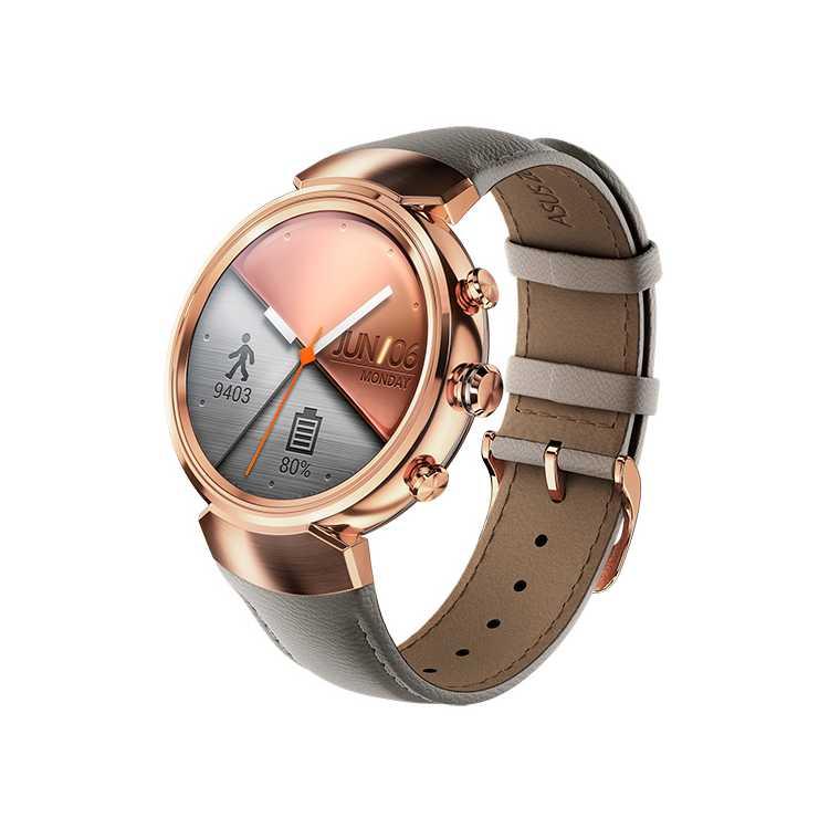 Asus ZenWatch 3, Часы