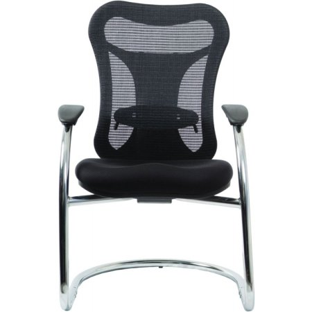 Кресло Бюрократ CH-999AV низкая спинка черный сиденье черный TW-11 ткань