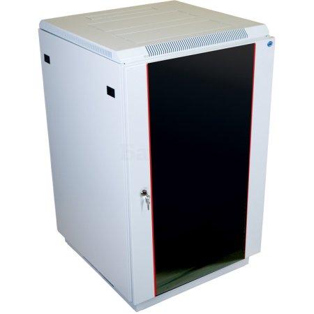 ЦМО Шкаф телекоммуникационный напольный 22U (600x600) дверь стекло (2 места), [ ШТК-М-22.6.6-1ААА ]
