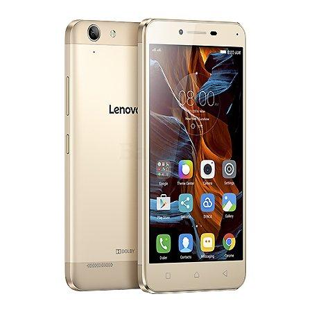 Lenovo Vibe K5 Plus 16Гб, Золотой, Dual SIM, 4G (LTE), 3G