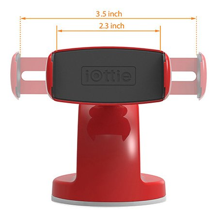 iOttie Easy View 2 Красный, 3.5""