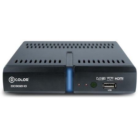 Ресивер DVB-T2 D-COLOR DC902HD