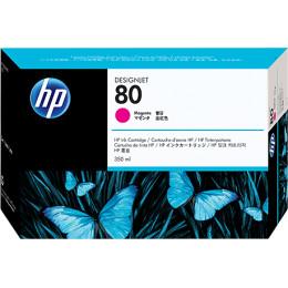 HP Inc. Cartridge HP 80 DsgJ 1000/1050C/1055CM, пурпурный (350ml)