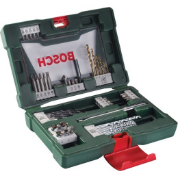 Набор принадлежностей Bosch V-line 48 предметов жесткий кейс