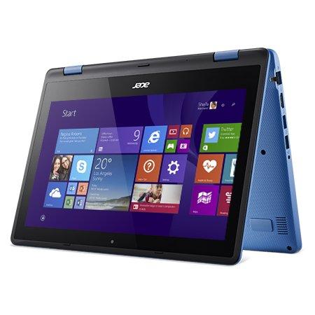 "Acer Aspire R3-131T-P626 11.6"", Intel Pentium, 1600МГц, 4Гб RAM, DVD нет, 500Гб, Синий, Wi-Fi, Windows 10, Bluetooth"