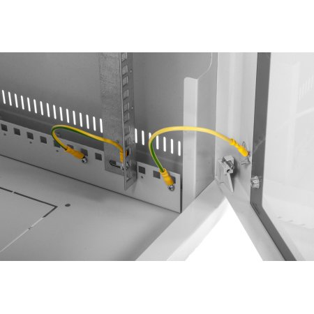 ЦМО Шкаф телекоммуникационный настенный 15U (600х480) дверь металл, [ ШРН-15.480.1 ]
