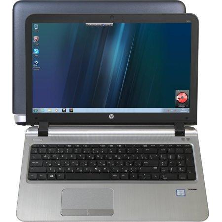 "HP ProBook 450 G3 W4P68EA 15.6"", Intel Pentium, 2.1МГц, 4Гб RAM, DVD-RW, 500Гб, Темно-серый, DOS, Wi-Fi, Bluetooth"