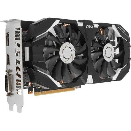 MSI NVIDIA GeForce GTX 1060 6GT OC 6144Мб, GDDR5, 1544MHz, PCI-Ex16 3.0