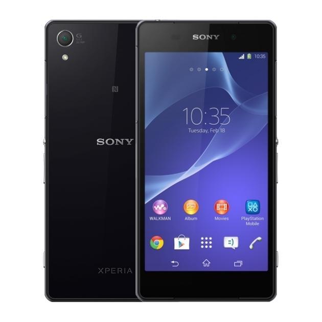 Sony Xperia Z2 D6503  карта, без мини-гарнитуры с функцией цифрового подавления шума Черный, 1 SIM