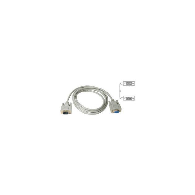 Удлинитель Buro кабеля VGA-15M/Fpro SVGA 15m/f для LCD мониторов 2 фильтра 1.8м