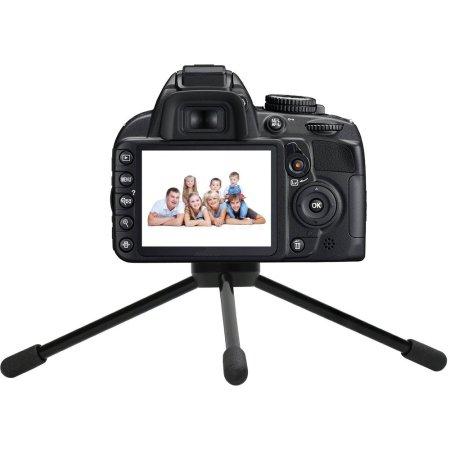 Promate Pintri Черный, Для фото- и видеокамер, Трипод - настольный