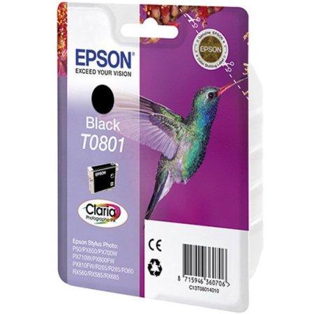 Epson C13T08014011 Черный, Картридж струйный, Стандартная, нет