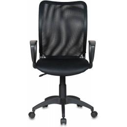 Кресло Бюрократ CH-599AXSN/TW-11 спинка сетка черный сиденье черный TW-11