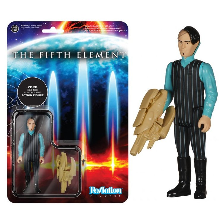 The Fifth Element. Zorg Reaction