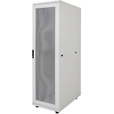 """IEK ITK Шкаф серверный 19"""", 42U, 600х1000 мм, перф. передняя и задняя двери, серый (компл.3 коробки - часть 2 из 3)"""