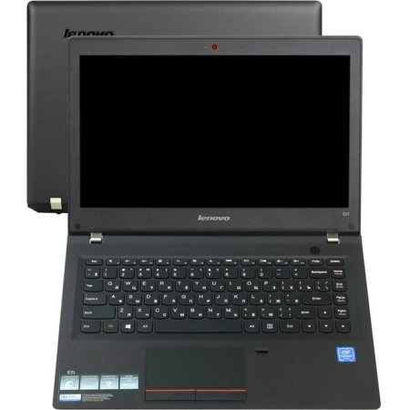 "Lenovo E31-70 80KX01G1RK 13.3"", Intel Core i3, 1600МГц, 4Гб RAM, DVD нет, 500Гб, Черный, Wi-Fi, DOS, Bluetooth"