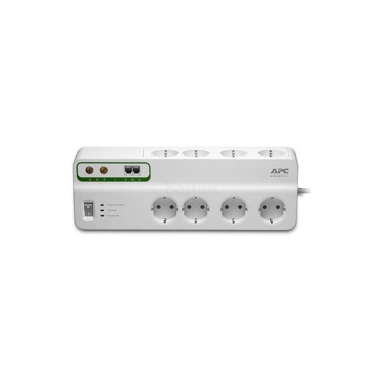 Сетевой фильтр APC PMF83VT-RS 3м, Белый