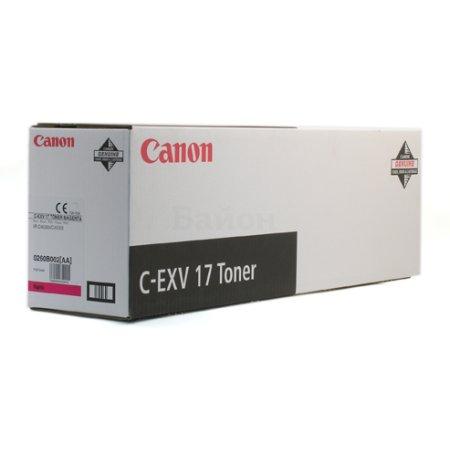 Canon C-EXV17 Пурпурный
