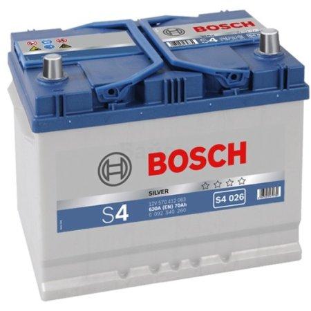 Аккумулятор BOSCH S4 026 Silver 570 412 063, 70e Ач