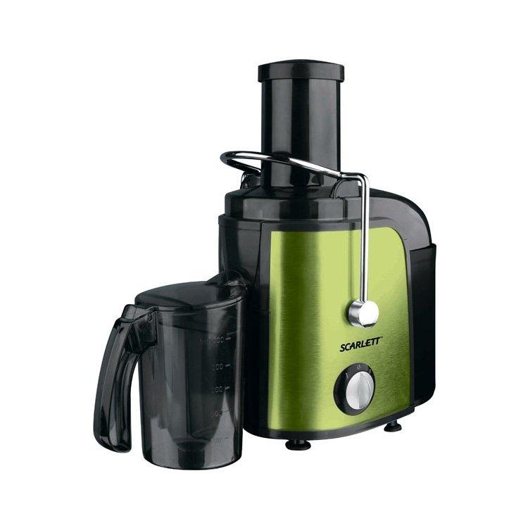 Scarlett SC-JE50S08 Зеленый, центробежная, 1000Вт, Нерж. сталь